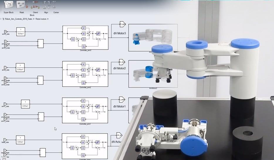 3d-Printed-Festo-SCARA-robot