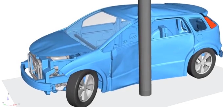 side impact crash e-mobility